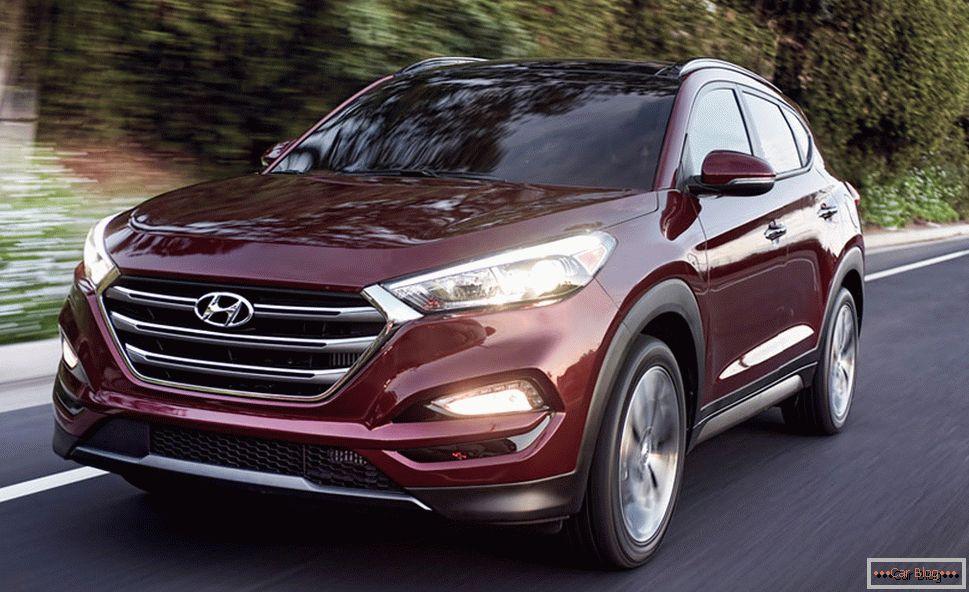 Hyundai Tucson 2016 года